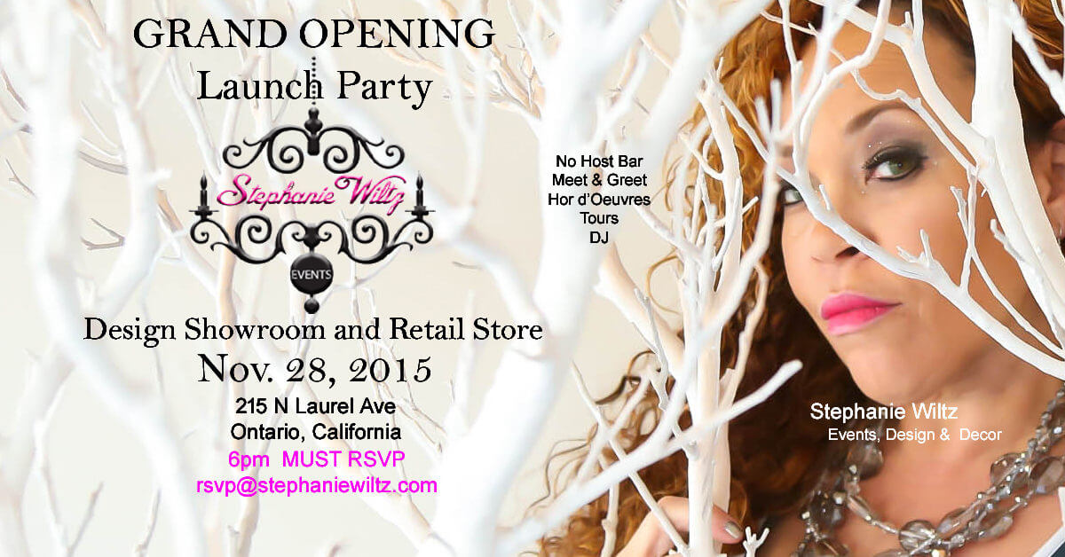 Stephanie Wiltz Announces Retail Decor Showroom Opening