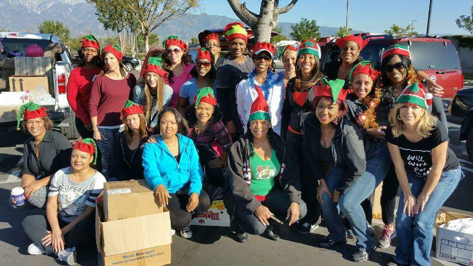 Merry Christmas Stephanie Wiltz and the Angels Makeover Needy Families